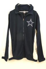 NFL Dallas Cowboys Full Zip Athletic Walk Track Jacket Official G3 Size L Men's