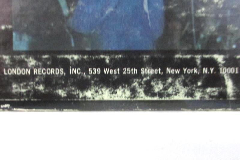 Tom Jones Live 1967 Rock Vinyl Record At the Talk of the Town