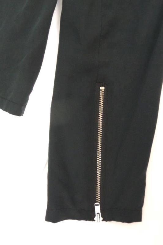 Trouve Dark Gray Women's Sz M Asymmetrical Full Zip Motorcycle Jacket Draped