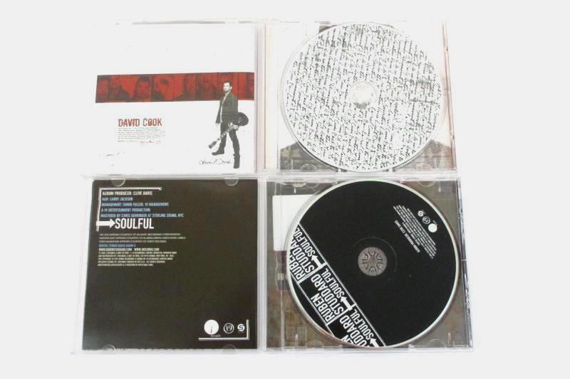 Lot Of 2 CDs Ruben Studdard Soulful  and  David Cook American Idols