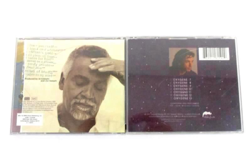 Lot Of 2 CD's Jean Michel Jarre Oxygen 7-13 Joe Sample Old Places Old FacesCD