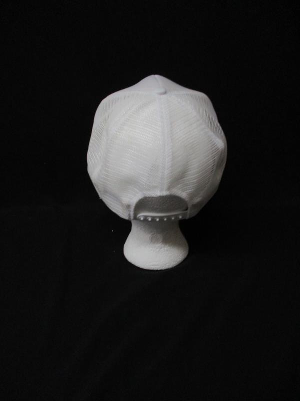 Great Western Ball Cap Norwegian Uff Da Nylon Mesh Off White Trucker Adjustable