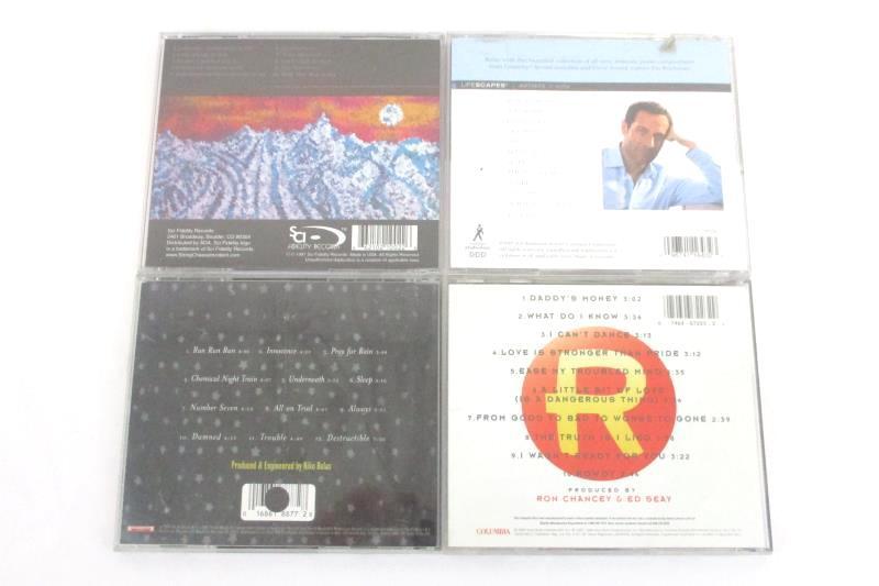 Lot Of 4 CDs Jim Brickman Kevin Salem Ricochet A String Cheese Incident