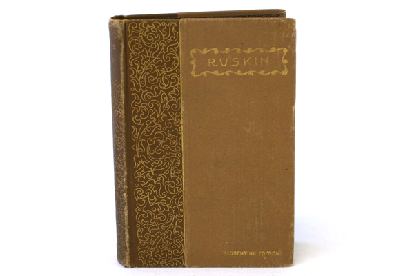 Vintage Sesame And Lilies By John Ruskin Hardcover Florentine Edition