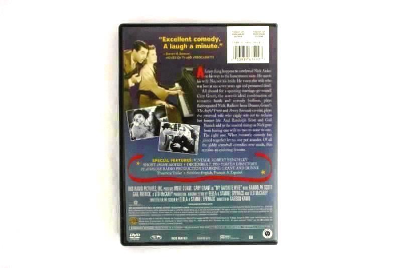 Lot of 3 DVDs My Favorite Wife Flash Gordon Frank Sinatra's Ocean's 11