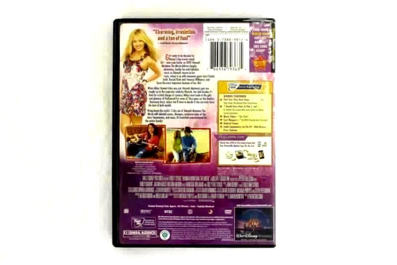 Lot of 2 DVDs Agent Cody Banks And Hannah Montana The Movie