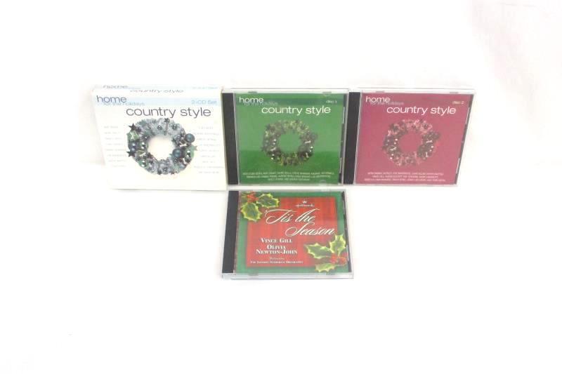 Lot Christmas CD Home For The Holidays Country Style Hallmark Tis The Season