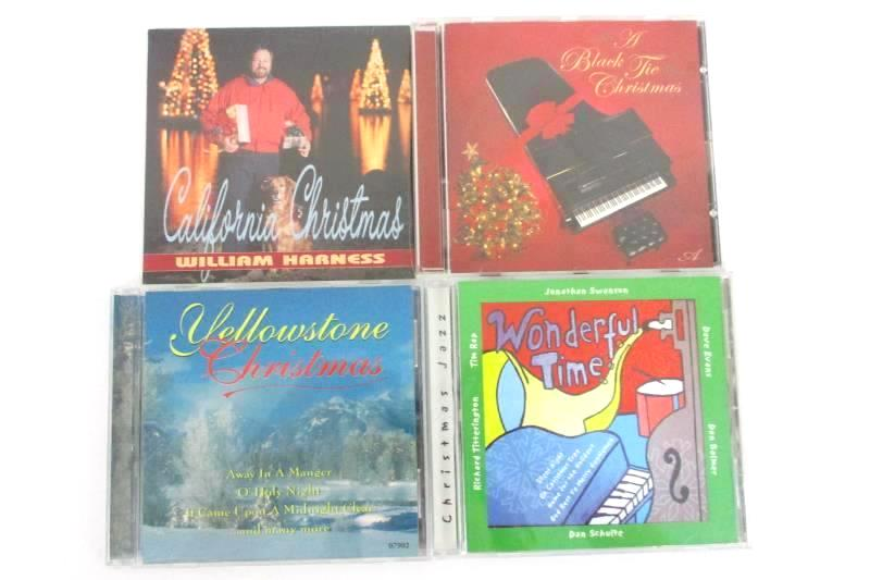 4 Christmas CDs Includes William Harness Jonathan Swanson Piano Wonderful Time