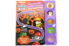 Nickelodeon Paw Patrol Puptastic Halloween Maze Sound Book Sealed