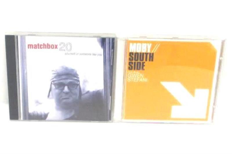Lot of 2 CD Matchbox 20 Yourself Or Someone LIke You Moby South Side