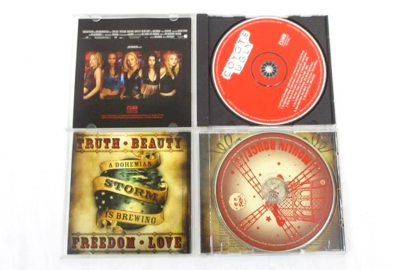 Lot Of 2 CDs Music From Baz Luhrmann's Film Moulin Rouge Coyote Ugly CD