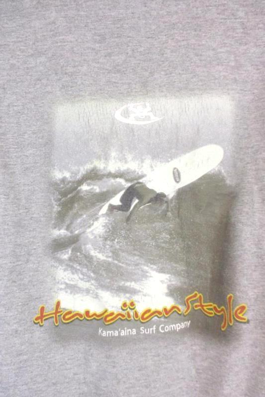 Lot of 2 Men's T-Shirts Hawaiian Style Tank Freedom Foundry Long Sleeve Size L