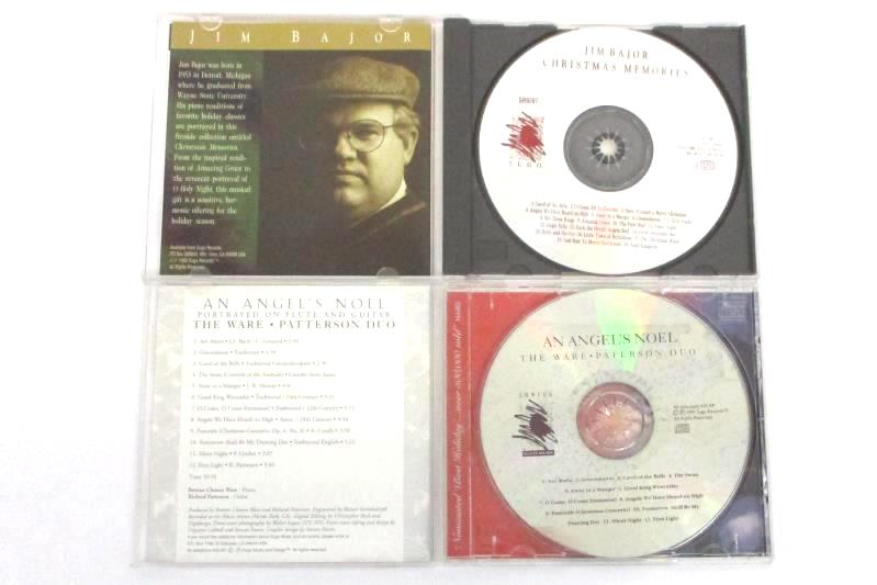 Lot of 2 Classical Christmas Music Album CDs Angel's Noel and Christmas Memories