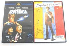 Lot of 2 Comedy DVD Movies Spaceballs and Napoleon Dynamite