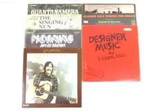 Lot of 7 Pop Soundtrack Musical Latin Religious 12 33RPM Vinyl Records