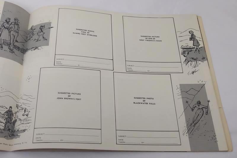 Vtg 1962 Historical Album of West Virginia by Richard Bowe Centennial