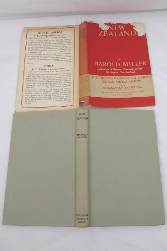 New Zealand by Harold Miller 1951 Hardcover Hutchinson's University Library