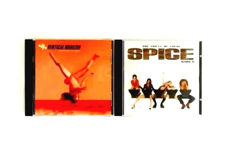 Lot Of 2 Spice Girls Say You Be There And Vertical Horizon CD