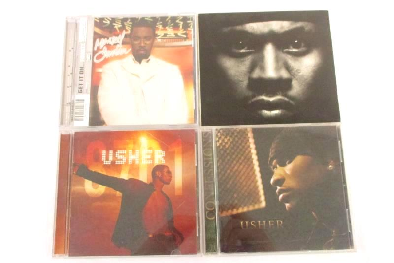 Lot 4 CD Usher 8701 Confessions Montell Jordan Get it On LL Cool J Mr Smith