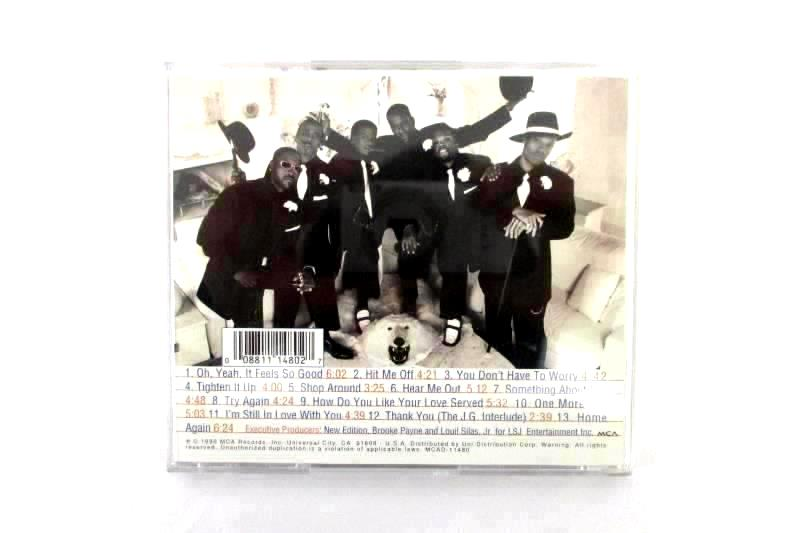 Lot Of 3 Blessed Union Of Souls Home New Edition Boyz II Men Bended Knee CD