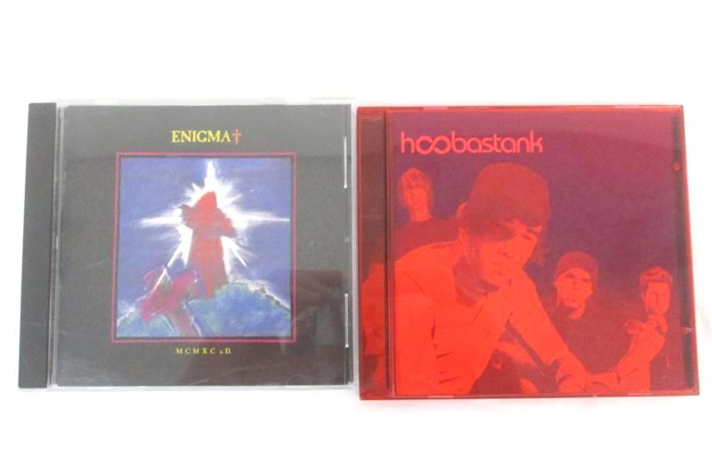 Lot Of 2 Hoobastank  And Enigma MCMXC a.D CDs