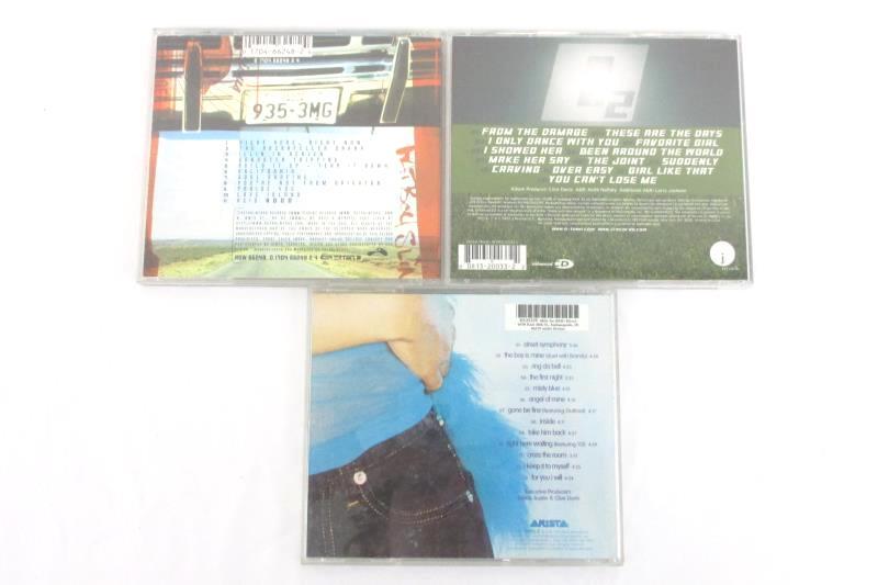 Lot Of 3 Monica The Boy Is Mine  O Town 02  Fat Boy Slim CD