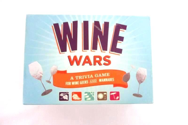 Wine Wars Trivia Game Chronicle Books 2 to 6 Players Ages 21 and Up