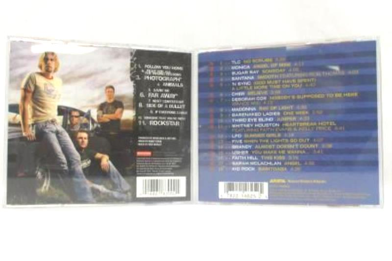 Lot Of 2 - Nickelback All The Right Reasons And Totally Hits 1999 CD