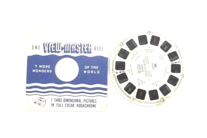 Vintage Sawyer's View Master Reel 66 The Orchid Island Hawaii 1951