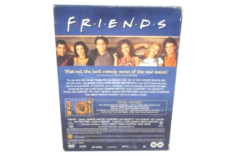 Friends The Complete First Season DVD 2002 3 Disc Set Missing Disc 3