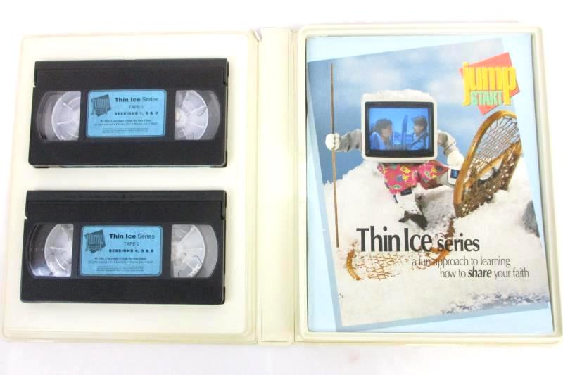 Jump Start Thin Ice Series Share Your Faith Small Group Set Side By Side VHS