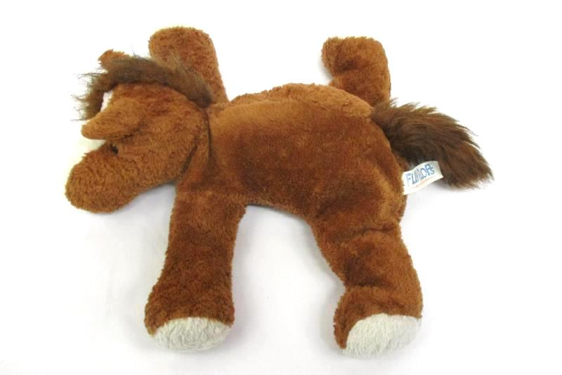 1999 Mary Meyer Horse Plush Flip Flops Extremely Relaxed Toy 13 Inches Long