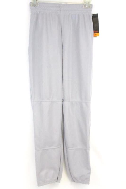 Wilson Men's Athletic Baseball Softball Pants A4374 Gray Size S with Tag