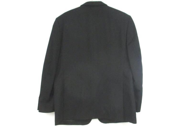 Jones New York Men's Black Textured 3 Button Front Blazer Sport Coat Sz 42S