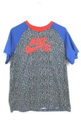 Nike Skateboarding Dri-Fit T-Shirt Red Black Blue Polyester Blend Youth Size XL