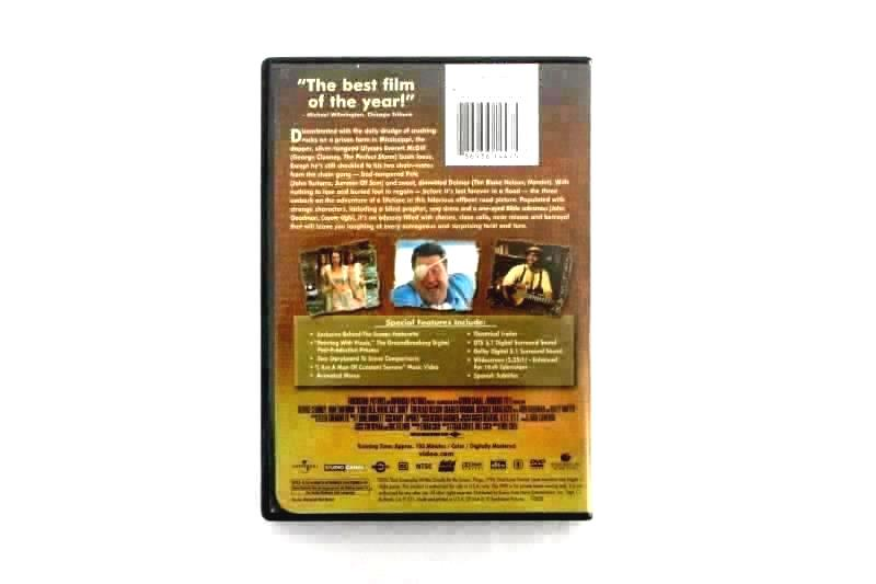 Lot Of 2 Drama O Brother Where Art Thou And Out Cold DVD Movie