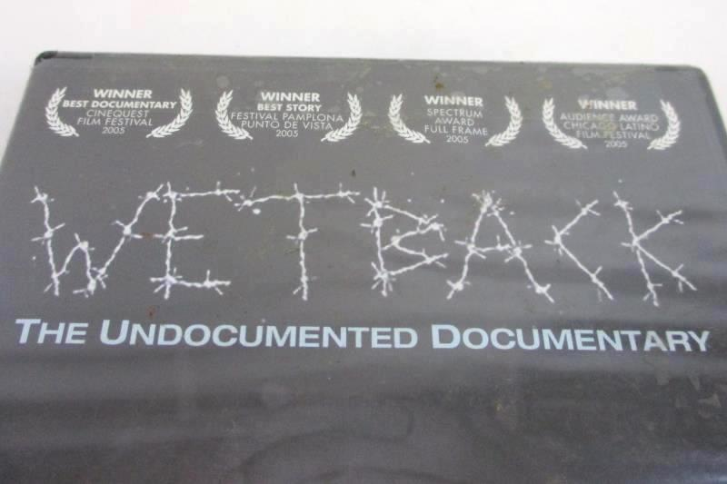 Wetback The Undocumented Documentary National Geographic DVD 2004 Sealed