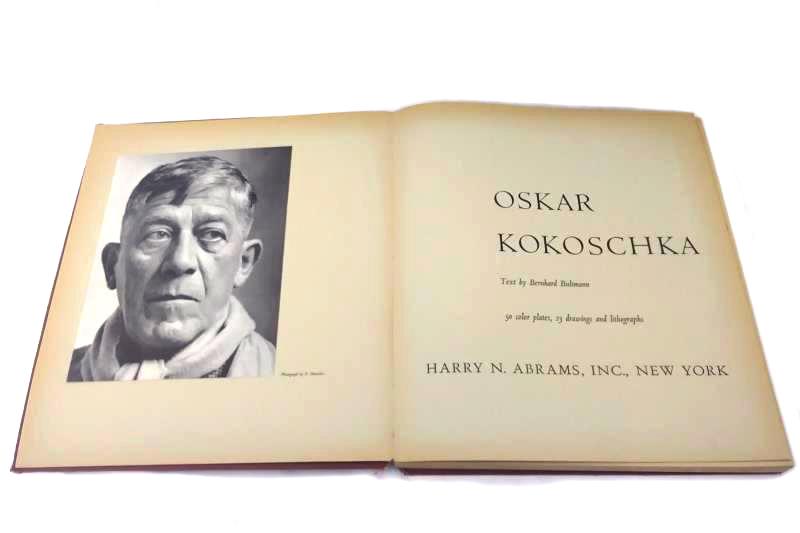 "Vintage Hardcover ""Oskar Kokoschka"" Text By Bernhard Bultmann"
