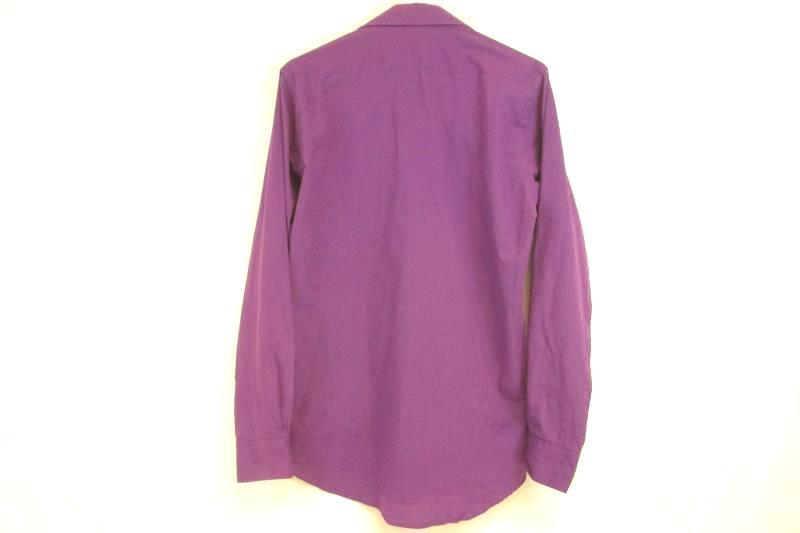 Lucasini Men's Long Sleeve Button Up Shirt Single Needle Tailoring Size 15