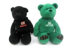 Limited Treasures Chris Chandler And Keyshawn Johnson Beanbag Plush Bears