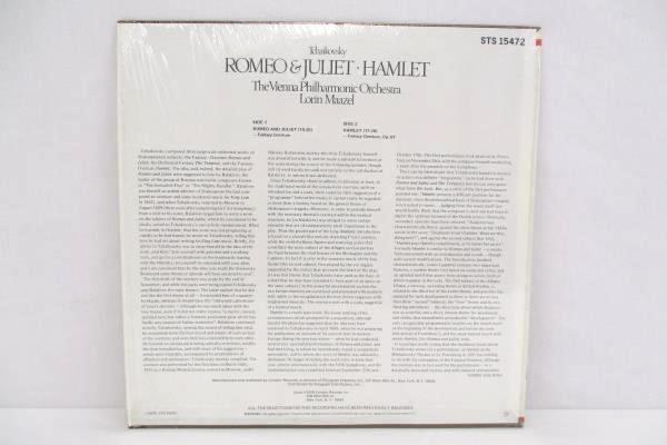 Tchaikovsky Romeo & Juliet Maazel Vienna Philharmonic Orchestra Vinyl LP Record