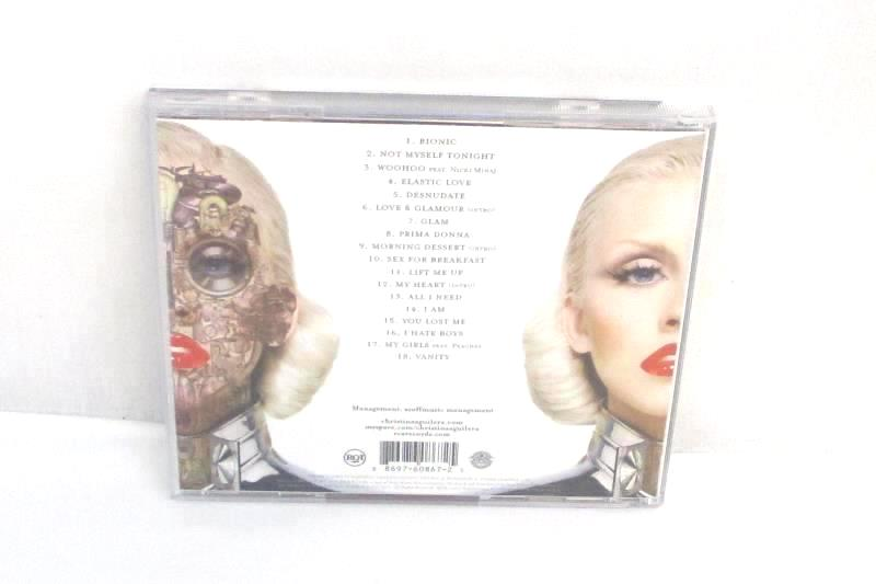 Lot Of 3 Christina Aguilera CDs Keeps Gettin' Better Justin & Christina Bi-on-ic