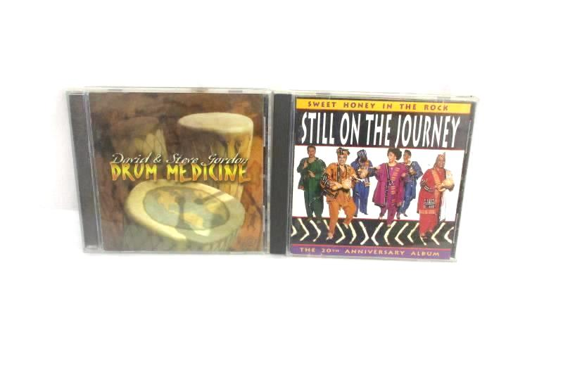 Lot of 2 African Beat CDs Drum Medicine Sweet Honey In The Rock 20th Anniversary