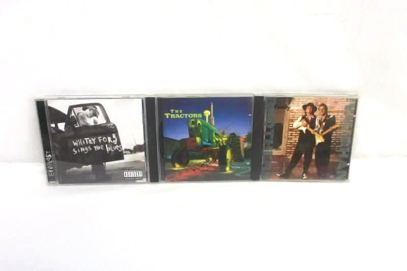 Lot of 3 Country CDs The Tractors Everlast The Vaughan Brothers in Cases