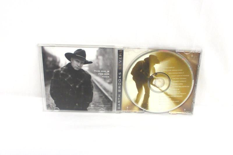 Garth Brooks Seven 1997 CD Capitol Records