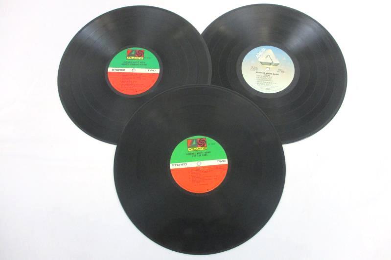 Lot of 3 Average White Band Records Cut The Cake Shine Warmer Communications