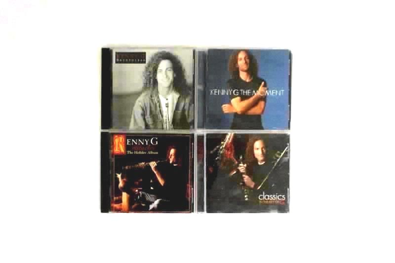 Lot of 4 Kenny G CDs Classics In The Key Of G Miracles The Moment Breathless
