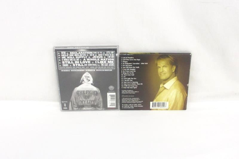 Lot Of 5 Christian CDs Kirk Franklin/John Tesh/Joan Marie/Benedictine Monks/Comp