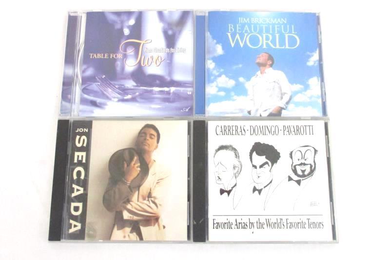 Lot Of 4 Mood Classical CDs Jim Brickman Jon Secada Piano For Dining Opera