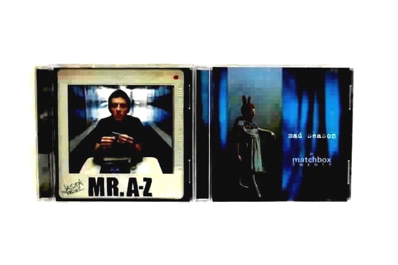 Lot Of 2 - Jason Mraz Mr. A-Z CD And Matchbox Twenty Mad Season CD